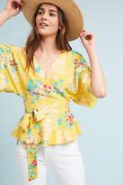 Yumi Kim Floral Wrap Blouse
