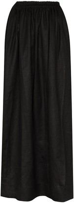 Matteau Pleated Maxi Skirt
