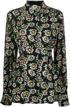 M Missoni Daisy Print Fitted Blouse