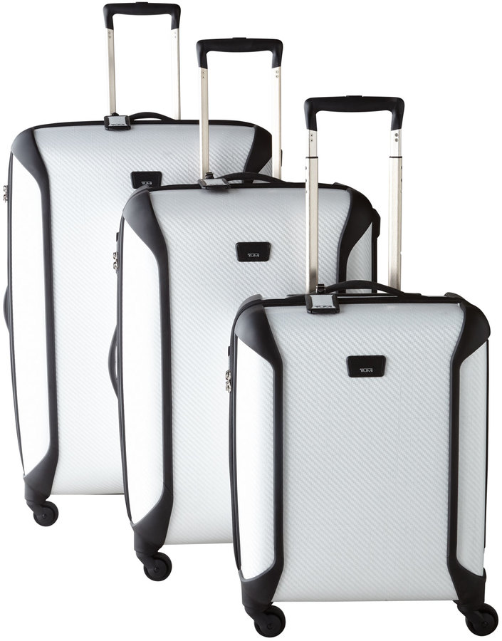 Tumi White Large-Trip Packing Case