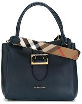 Burberry buckled closure tote - women - Calf Leather - One Size