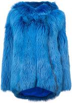 Oscar de la Renta Artic marble hoodie