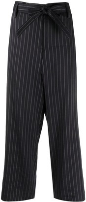 Barena Pin Stripe Cropped Trousers