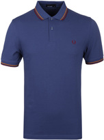 Fred Perry M3600 Deep Pacific Blue Pique Polo Shirt
