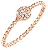 Nordstrom Women's Bony Levy 'Aurora' Diamond Pave Circle Ring Exclusive)