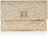 Valorie Gold Glitter Clutch