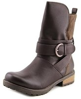 Roxy Bancroft Women Round Toe Synthetic Brown Mid Calf Boot.