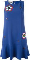 Moschino flower power dress - women - Polyester/Triacetate - 44