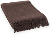 Lexington Company Lexington Classic Wool Throw Dark Brown 130x170cm
