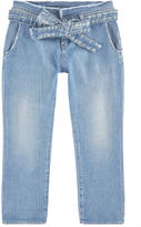 Le Temps Des Cerises Carrot cut stone-washed denim jeans