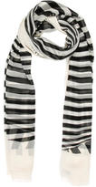Dolce & Gabbana Multicolor Striped Scarf