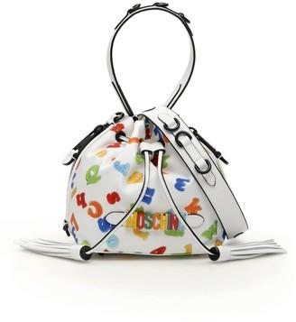 Moschino Logo Satchel Bag