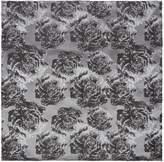 Kenneth Cole Katori Floral Design Silk Pocket Square