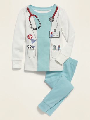 Old Navy Unisex Doctor Costume Pajama Set for Toddler & Baby