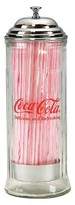 Tablecraft Coca-Cola Straw Dispenser