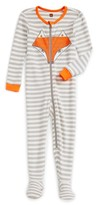 Tea Collection Infant Boy's Fox Fitted One-Piece Pajamas