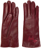 L'Autre Chose cut out logo gloves