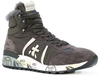 Premiata Snowboot Style Hi-Top Sneakers