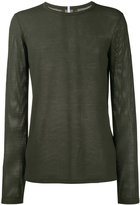 Lot 78 Lot78 mesh long sleeve t-shirt