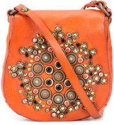 Campomaggi embellished saddle crossbody bag