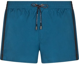 Dolce & Gabbana Side-Stripe Swim Shorts