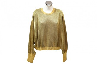 Louis Vuitton Gold Wool Knitwear