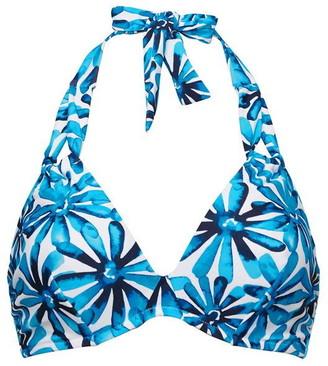 Figleaves Underwired Non Pad Halter Bikini Top