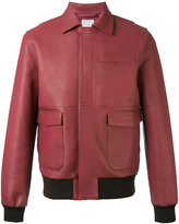 Wood Wood Dean jacket - men - Leather/Polyester - S