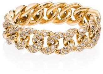 Shay 18kt Gold Chain Diamond Ring