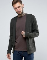 Asos Open Cable Knit Cardigan