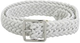 LAUREN Ralph Lauren - 1 inch Stretch Woven Belt (Black) - Apparel