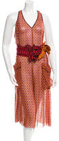 Marc Jacobs Printed Sleeveless Jumpsuit w/ Tags