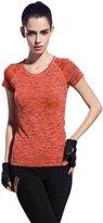 honour fashion Women's Active Short-Sleeve Crew Neck T-Shirts(m, )