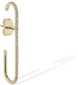 FEDERICA TOSI Kelly Pin Crystal Mono Earring