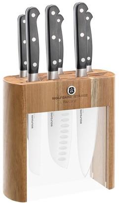 Baccarat Wolfgang Starke 7-Piece German Steel Knife Block