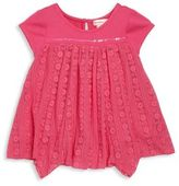 Design History Toddler's & Little Girl's Floral Lace Top
