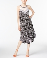 INC International Concepts Petite Crocheted Shift Dress, Created for Macy's