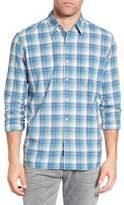 FAHERTY BRAND Ventura Plaid Trim Fit Sport Shirt