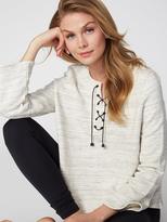 525 America Space Dye Lace Up Sweatshirt