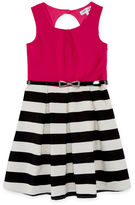 EMERALD GUMDROPS Emerald Gumdrops Short Sleeve Cap Sleeve Skater Dress - Big Kid Girls