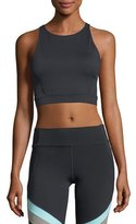 Under Armour Mirror Crop Racerback Studio Tank