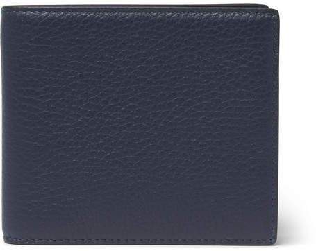 Smythson Burlington Full-Grain Leather Billfold Wallet