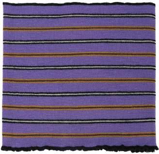 Lanvin striped polo scarf
