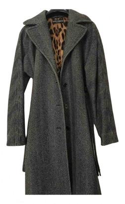 Dolce & Gabbana Grey Wool Coats