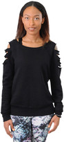Jala Clothing Laser Cut Sweatshirt 5886917957