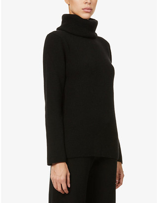 Ernest Leoty Ombeline turtleneck wool and cashmere-blend jumper