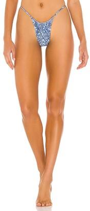 Frankie's Bikinis Francesca Shine Bikini Bottom