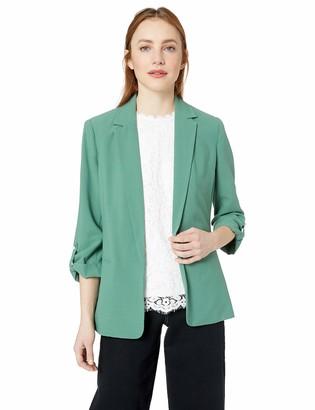 Kensie Women's Stretch Crepe Jacket