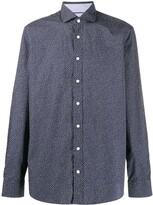 Hackett leaf-print regular shirt