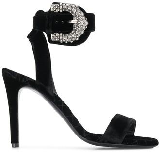 Etro western buckle sandals